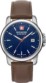 Swiss Military Hanowa - Reloj Analógico para Unisex Adultos de Cuarzo con Correa en Acero Inoxidable 06-4230.7.04.003