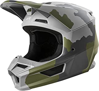 Fox Racing 2020 Youth V1 Helmet - Przm Camo (Large) (CAMO)