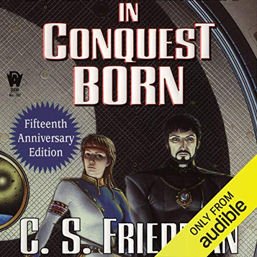 In Conquest Born audiobook cover art