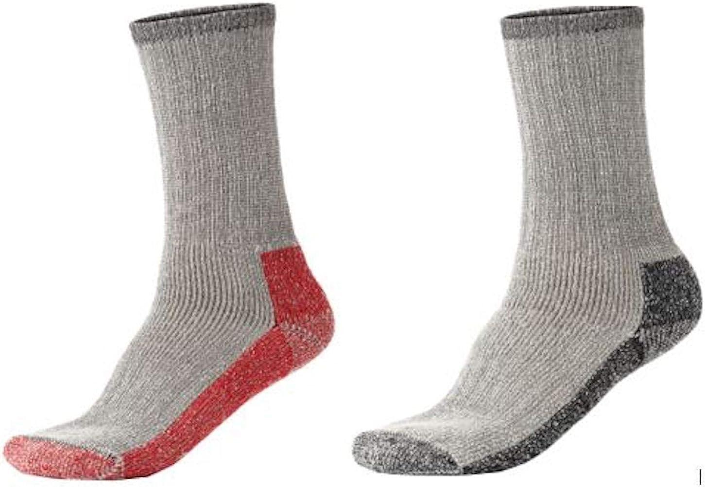 Terramar Thermal Crew Socks (2 Pack)