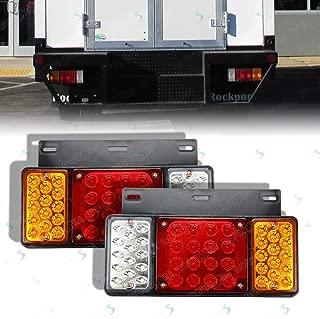 24V 44 LED's Rear Tail Lights Fit GMC W Series Isuzu Elf Truck NPR NPR-HD NKR NHR NRR FSR FRR 1986- (Waterproof level IP66)