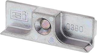 Siegenia Sluitplaat TS type 380 ook 0380 ook A0380 zilver verzinkt