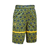 Under Armour Kids Boy's Steph Curry 30 Printed Spear Shorts (Big Kids) Royal/Taxi Shorts