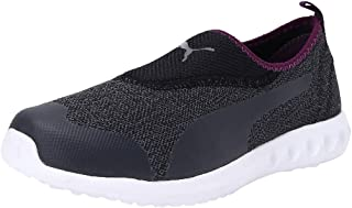 Puma Women's Concave 3 Mu Slip-on Wn S Castlerock-plu Running Shoes
