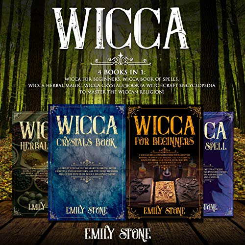 Wicca: 4 Books in 1 audiobook cover art