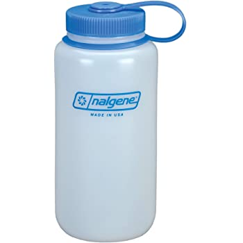 Nalgene HDPE Wide Mouth BPA-Free Water Bottle, 32 oz