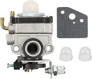 Butom Carburetor +Gasket+Primer Bulb for Honda 4 Cycle GX22 GX31 Engine FG100 Tiller HHE31C HHT31S UMK431 Edger Trimmer 16100-ZM5-803