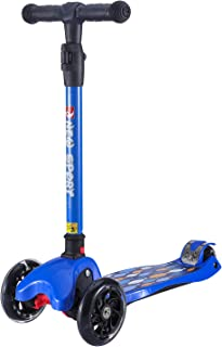 New Olym Kids Scooters 3 Wheel for Girls&Big Boys Toddlers, 4 Adjustable Height Flashing Wheels Scooter with Extra Wide Deck Safety Brake|Foldable System Ride Scooter for Children Ages 3-12