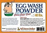 Egg Wash Powder 40 LBS
