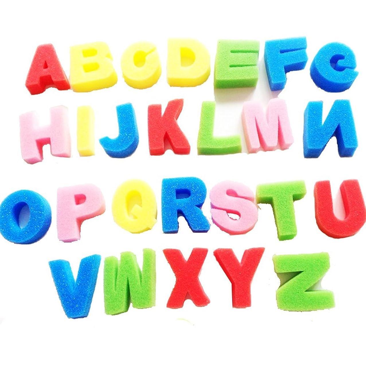 Carykon Artist Studio ABC Alphabet Sponges Painting Sponges Capital Letter, 26 Count