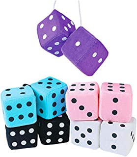 fuzzy dice party favors