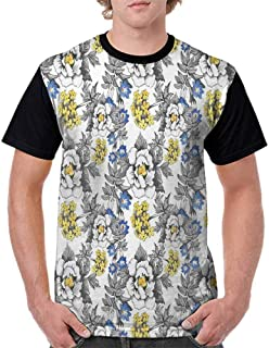 T Shirts for Men Classic Graphic Moisture Wicking Comfort Cool Undershirt