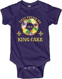Mardi Gras Baby in a King Cake: Infant Bodysuit