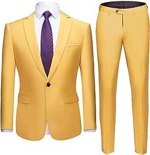 Best pastel yellow suit Reviews