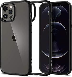 Spigen Ultra Hybrid Designed for Apple iPhone 12 Pro Max Case (2020) - Matte Black (ACS01619)