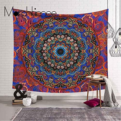 Mandala Tapijt Muur Opknoping Wereldkaart Psychedelisch Galaxy Patroon Deken Camping Tent Reismatras Boheemse Slaapmat Tapijten, 8083-3.200 Cm x 150 Cm