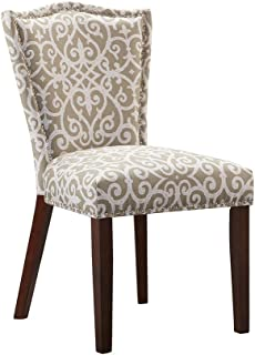 Madison Park Nate Dining Chair (Set of 2) Taupe See Below
