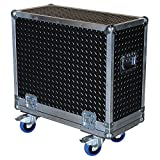 Amplifier 3/8 Ply ATA Case with Diamond Plate Laminate Fits Genz Benz Black Pearl 30 112