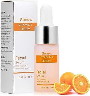 Vitamin C serum för ansikte med hyaluronsyra ta ta ta bort rynkor fuktgivande blekande hudvård essens