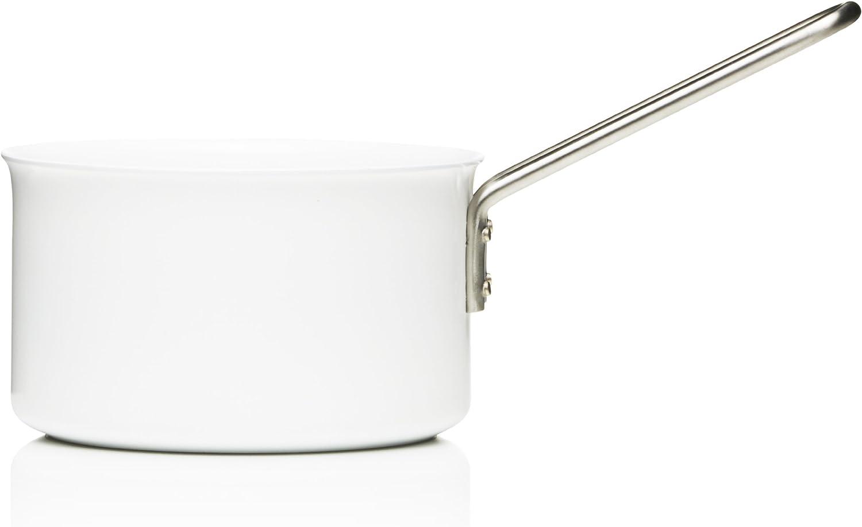 Fashionable Eva Trio White Direct sale of manufacturer Saucepan Aluminum Ceramic 1.8-Lite with Coating