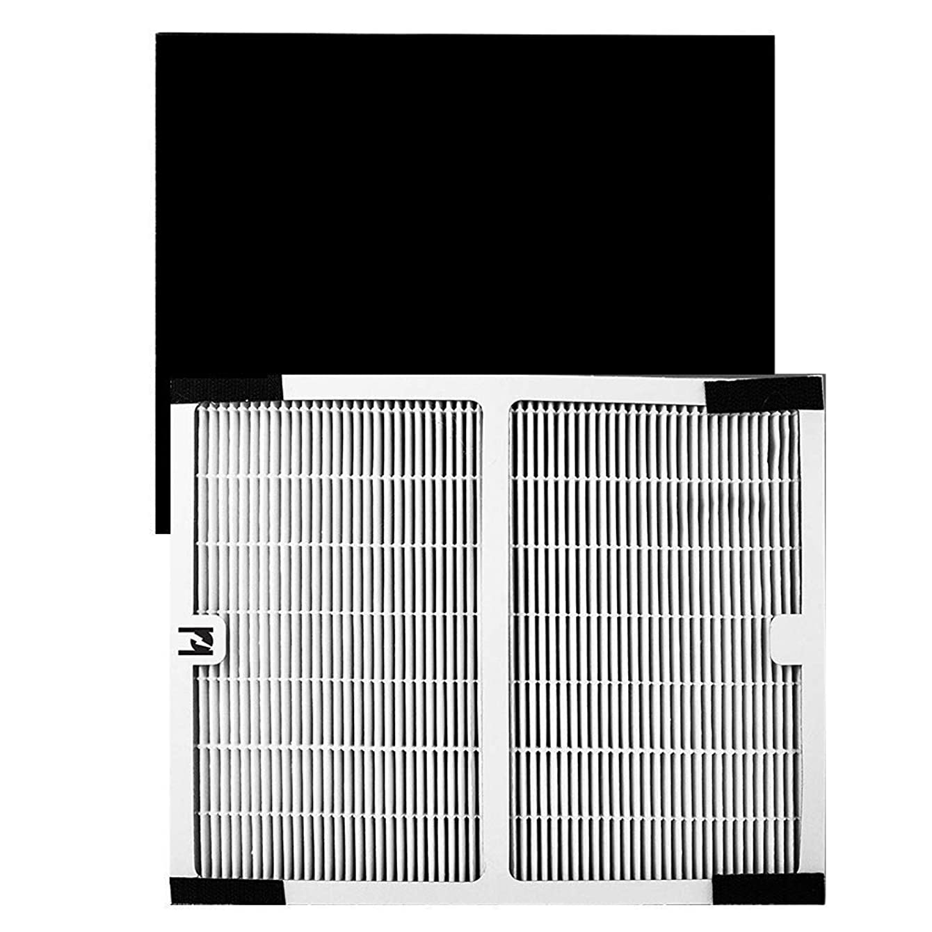 Replacement Idylis Air Purifier True HEPA Filter, Compatible With Idylis Air Purifiers Idylis AC-2119, IAPC-10-140, IAP-10-100, IAP-10-150 Model # IAF-H-100A, Includes 1 HEPA & 1 Carbon Filter