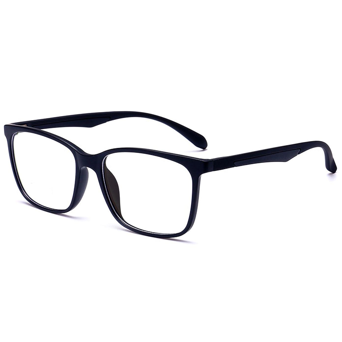 671c17e3d0ee ... ANRRI Blue Light Blocking Glasses for Computer Use, Anti Eyestrain UV  Filter Lens Lightweight Frame