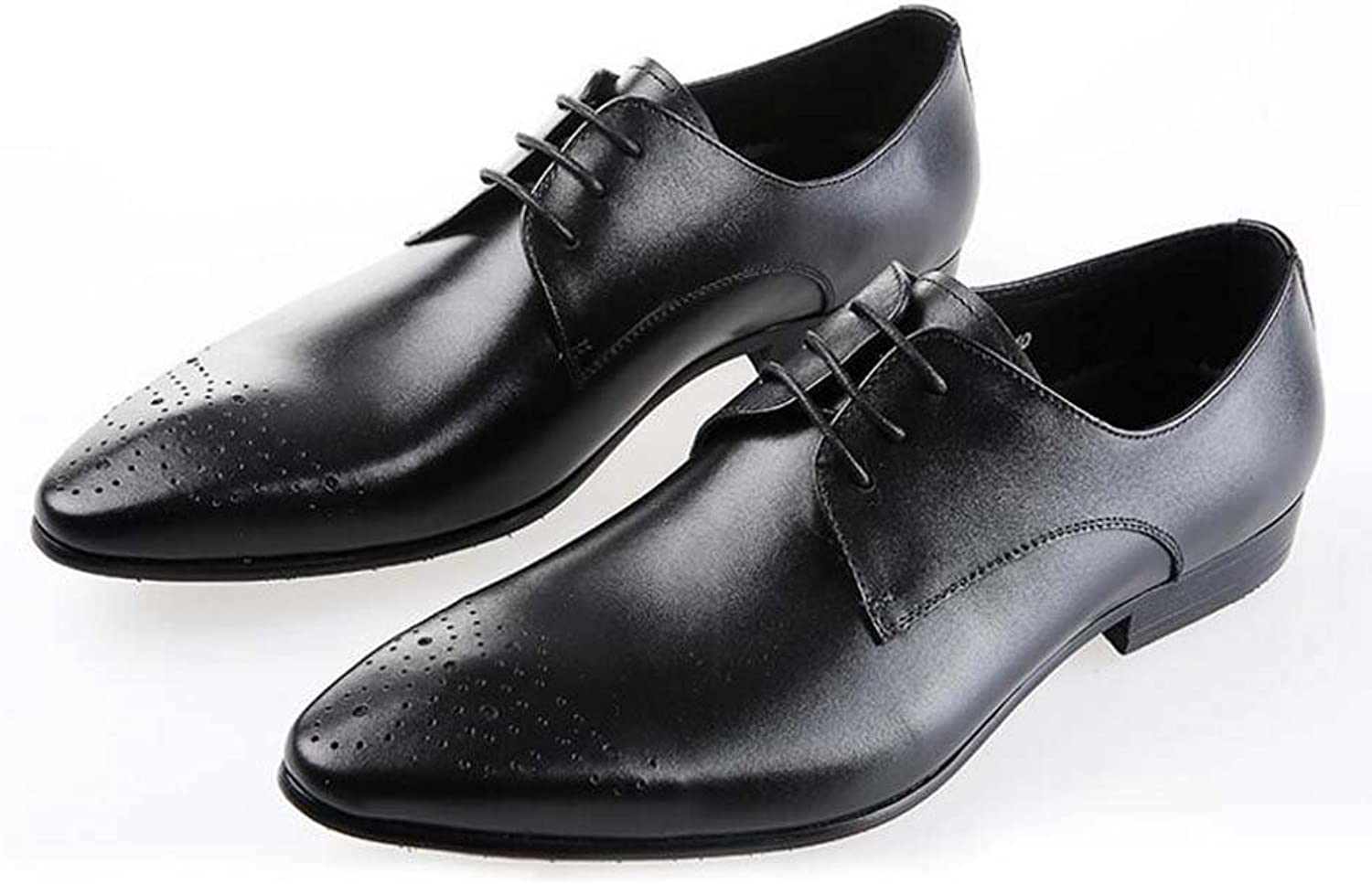Men's Wedding shoes Europe and The United States Version of The Dress Work Wear Stylish Atmospheric shoes Small Code 37