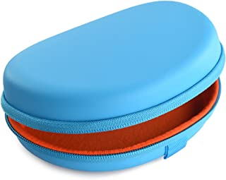 Headphones Carrying Case for Beats Solo HD and More/Hard Shell Headset Travel Bag (Light Blue)