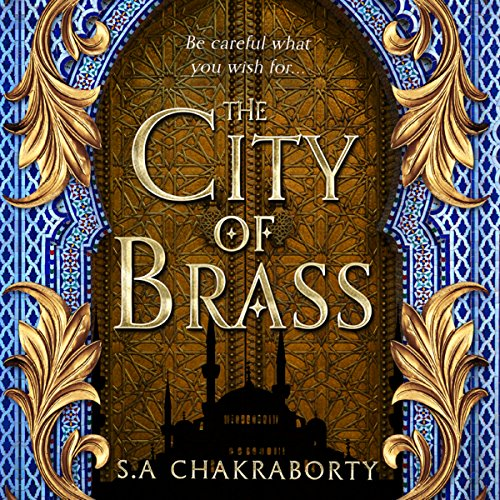 The City of Brass audiobook cover art