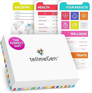 TellmeGen Test DNA Salute + Ancestry (Origini) | Il Test del DNA più completo (Malattie più importanti, Ancestry, Compatib...