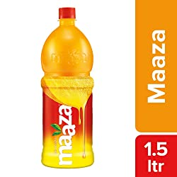 Maaza Cool Drinks, Mango, 1.5L Bottle