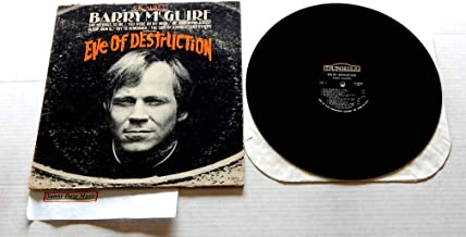 Barry McGuire Eve Of Destruction - Dunhill Records 1965 - Used Vinyl LP Record Album - 1965 Mono Pressing D-50003 Very Rare - Try To Remember - Baby Blue - You Were On My Mind - Why Not Stop & Dig It