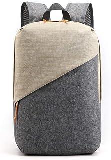 Mochila de tela Oxford antirrobo, color de colisión, multifuncional, de gran capacidad, bolsa de viaje escolar