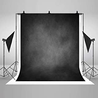 COMOPHOTO Abstract Smoke Gray Backdrop Photography Texture Personal Portraits Background for Professional Head Shots 5x7ft props