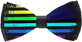 gay pride bow tie
