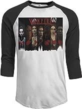 5GFH12FHM Vampire The Masquerade - Bloodlines-1 Cool Men's 3/4 Sleeve Raglan Baseball T-Shirts