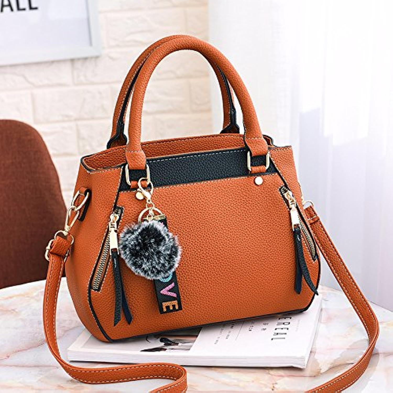XMY Damen Tasche Tasche Tasche Handtasche Schulter einfache weibliche Tasche Big Bag, Khaki B07Q9LYBTS  Qualität 08ce62