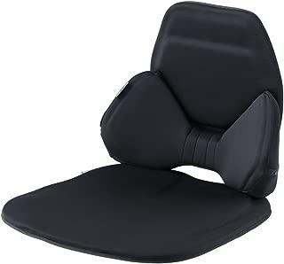 エクスジェル シートクッション ハグドライブ バッククッションセット ブラック HUD0102-BK