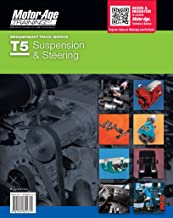 By Motor Age ASE T5 Test Preparation - Steering & Suspension Study Guide (Motor Age Training) [Paperback]