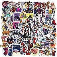 10/09/05/05/100 / 100pcsヱヴァンゲリオンジャパンアニメGraffitiステッカートラベル荷物ギターのラップトップ漫画デカールステッカークラシックキッズのおもちゃ (Color : 100PCS Evangelion)