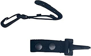 Ewart Tactical Belt Keeper with Plastic Key Clip 2 PK - for Duty Gear Belt up to 2.25