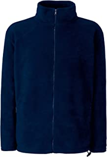 Fruit of the Loom Full Zip Fleece Felpa Uomo