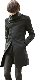 (ドートル オトゥール) D'autres hauteurs 4色 3サイズ 大きな 襟 付き タートルネック 長袖 メンズ ロング 丈 コート