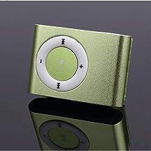90GJ Sports MP3 Student Walkman Compact Mini Couple Cute Cartoon Running P3 English Music Player Clip Card Blue [Send 14G ... photo
