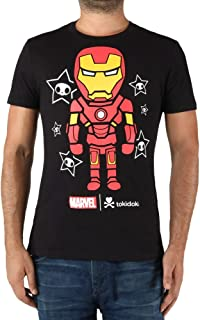 Tokidoki Marvel Iron Man Superhero Men's T-Shirt