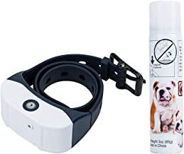 Jing Cheng [Newest 2019] Dog Bark Spray Collar, Rechargeable Waterproof Anti-bark Adjustable Pet Training Collars Device for Small Medium Large Dogs