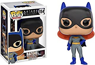 Batgirl: Batman The Animated Series x Funko POP! Heroes Vinyl Figure & 1 PET Plastic Graphical Protector Bundle [#154 / 11572 - B]