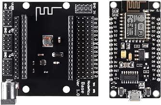 MELIFE ESP8266 Development Board, NodeMCU Lua V3 WiFi Testing DIY Board with CH340G USB Base Shield Set