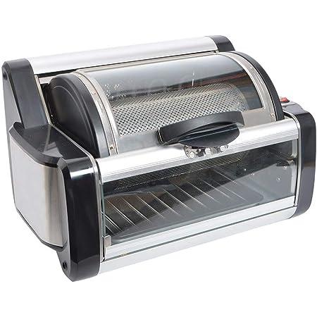THANKO 360度回転ロティサリーグリル RTSGRL01 【 肉料理 BBQ 丸焼き 回転焼き 炙る 焼く トースト 】