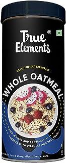 True Elements Whole Oatmeal for Breakfast 500g - Diet Food, Healthy Breakfast, Made from Gluten Free Oats